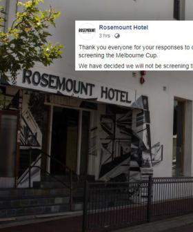 Pub's Last-Minute Decision To Not Screen The Melbourne Cup