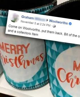 Woolies Shoppers Want The Stubby Holder With The 'Christhmas' Typo Back
