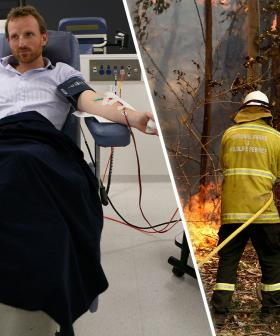 Red Cross Call For Blood Donors During Bushfire Emergency