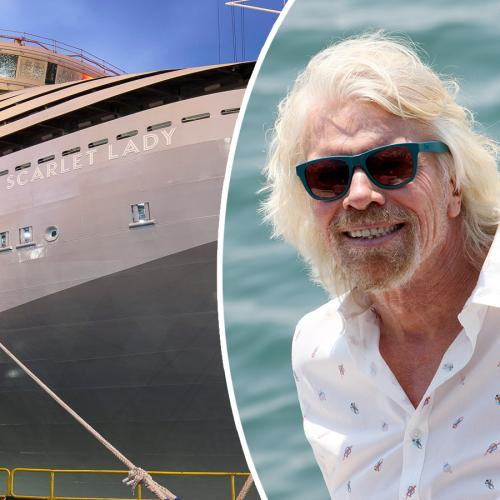 Richard Branson Introduces Us To His New Adults Only 'Anti-Cruise Ship'