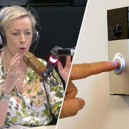 Amanda Keller's Truly Horrifying 'Doorbell' Experience