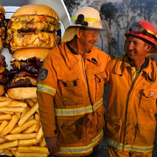 Sydney's Milky Lane Offers Free Meals For All Firefighters