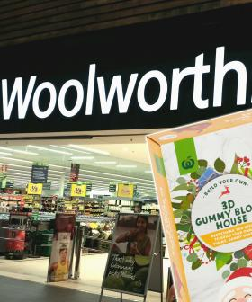 Forget Gingerbread Houses, Woolworths Is Selling A Christmas House Made Out Of Gummy Lollies