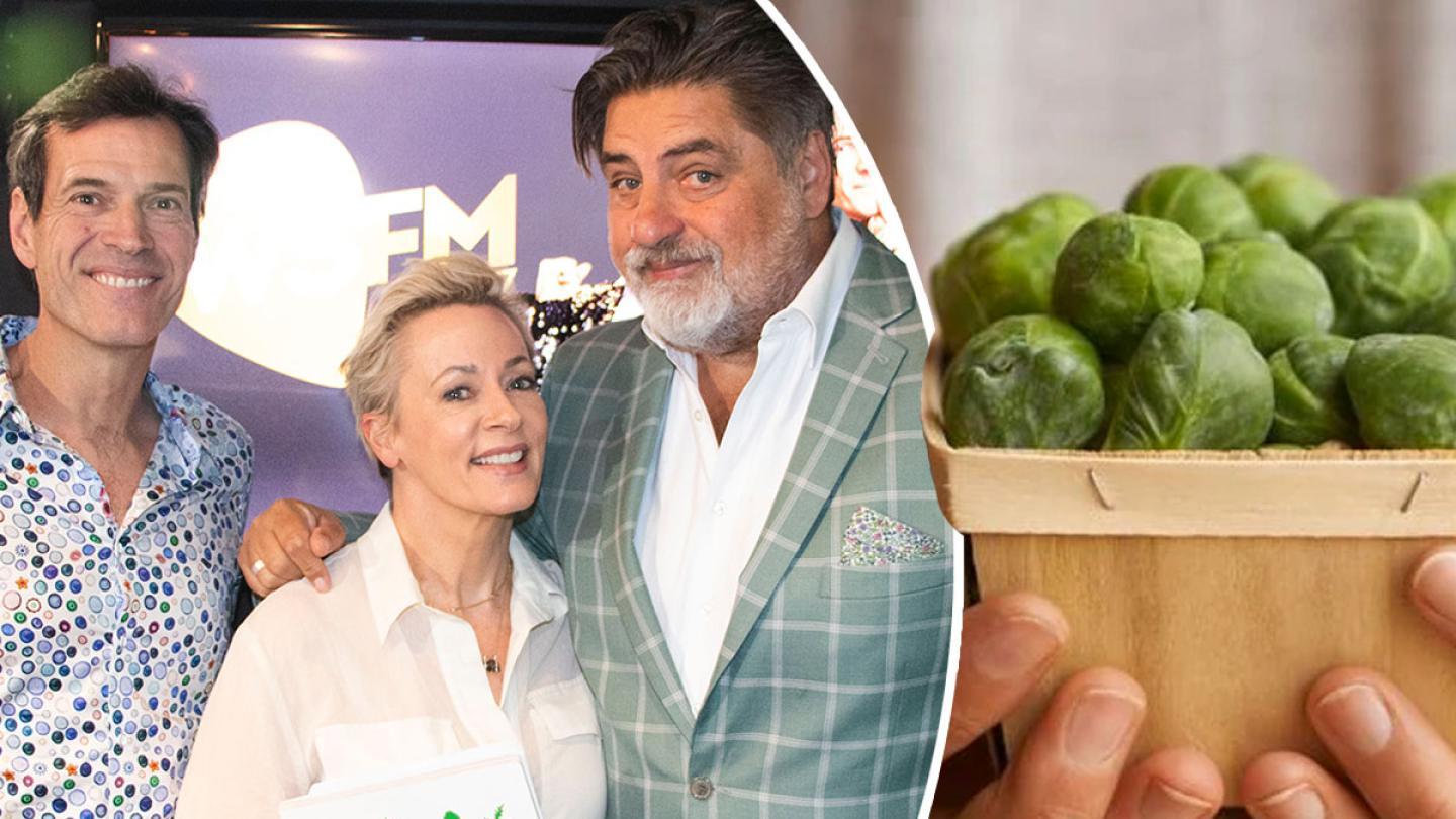 Matt Preston On 'Sexy' Vegetables And The BEST Brussels Sprouts Recipe