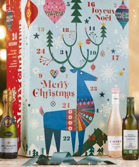ALDI's Cult Favourite Wine Advent Calendar Is Returning!