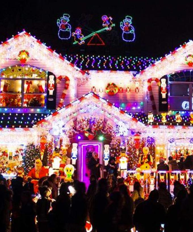 SYDNEY MAP: Your Guide To The City's Best Christmas Lights