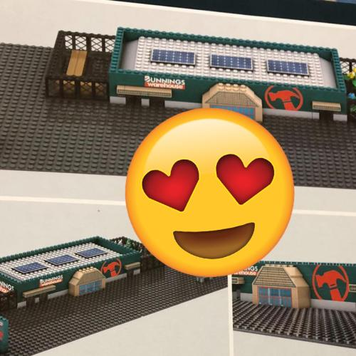 You Can Now Get A LEGO-Style Bunnings Warehouse