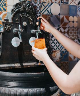 This Sydney Restaurant Has A Bottomless Prosecco And Aperol Spritz Fountain