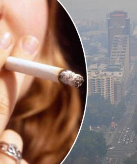 Sydney Air Quality Equivalent Of Smoking 34 Cigarettes