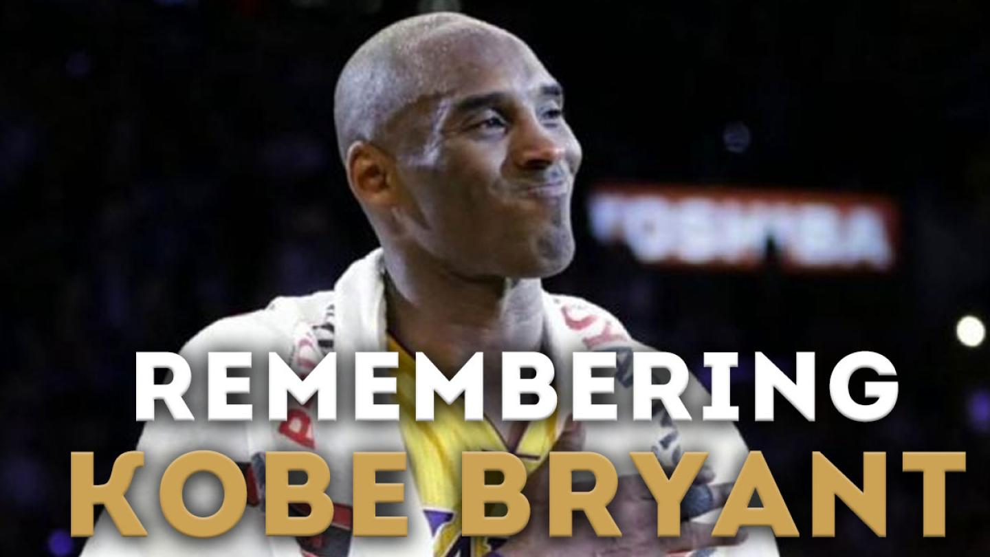 Jonesy & Amanda Pay Tribute To Kobe Bryant
