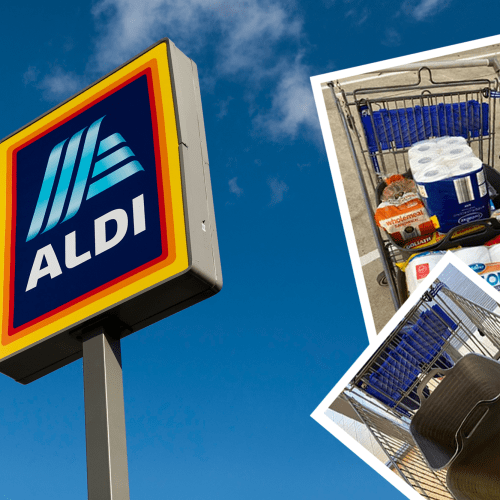Mum's Incredible ALDI Checkout Hack