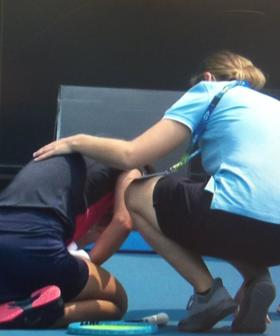 """""""I Just Can't Breathe"""": Australian Open Players Choke On Court In Distressing Scenes"""