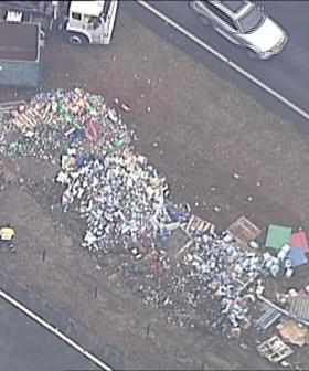 Truck Loaded With Beer Crashes In Sydney's West