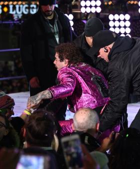 Post Malone Fell Off The Stage During A New Year's Eve Performance