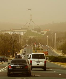 Canberra Airport Closed As Bushfires Flare Up