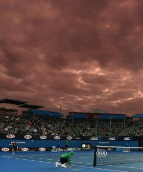 Australian Open Temporarily Suspended Due To Hazardous Smoke