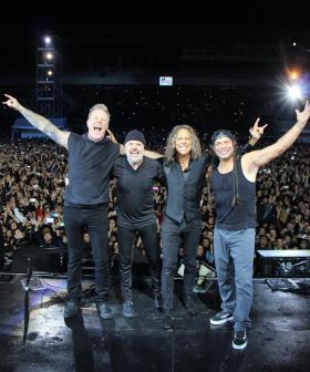 Metallica Donates $750,000 To Australia's Bushfire Relief