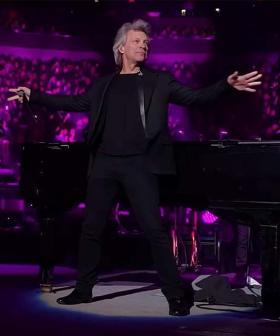 Jon Bon Jovi Made An Unannounced Appearance With Billy Joel