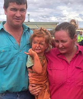 Toddler Missing At Remote Station Found With Her Dog By Her Side