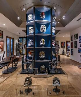 This $38 Million LA Mansion Comes With Star Wars Cantina In The Basement