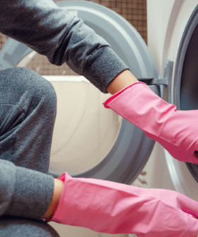 Woman's 'Disgusting' Washing Machine Cleaning Trick Has Left People Confused And Amazed