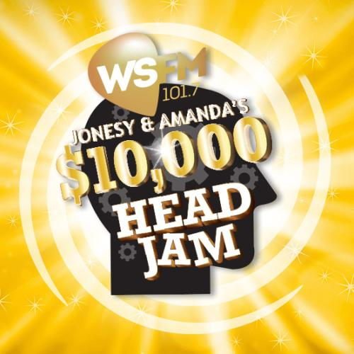 Jonesy & Amanda's $10,000 Head JAM