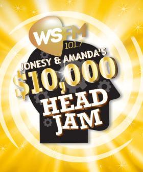 Jonesy & Amanda's $10,000 Head JAM