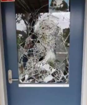 """Unbelievable!"": Vandals Trash NSW School Saved From Bushfires"