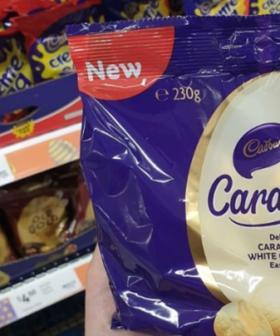 Caramilk Chocolate Eggs Are On Shelves NOW!