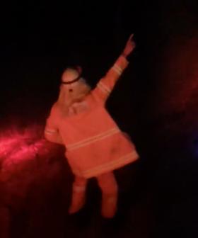 Heartwarming Video Captures NSW Firefighter Dancing During His Break