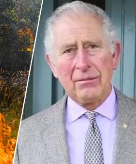 Prince Charles' Emotional Message To Firefighters And Bushfire Victims