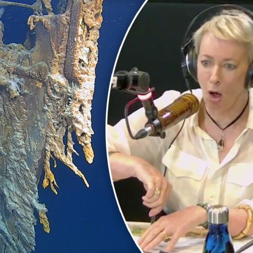 Jonesy & Amanda Chat To The FIRST Aussie To See Titanic Wreckage