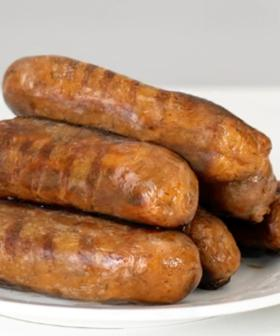 Woolworths Is Now Selling Cheeseburger Sausages