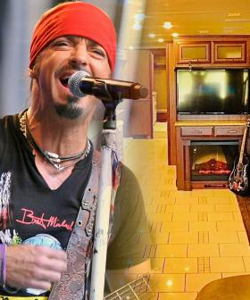 Buy Bret Michaels' Tour Bus And He'll Throw In Concert Tickets AND A Photo With Him