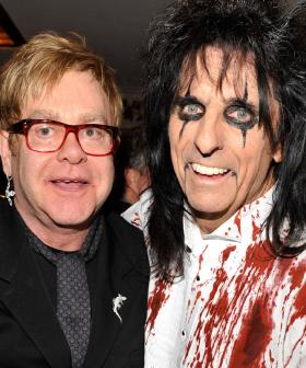"""I Used To Borrow His Diamonds"": Alice Cooper On Being Neighbours With Elton John"