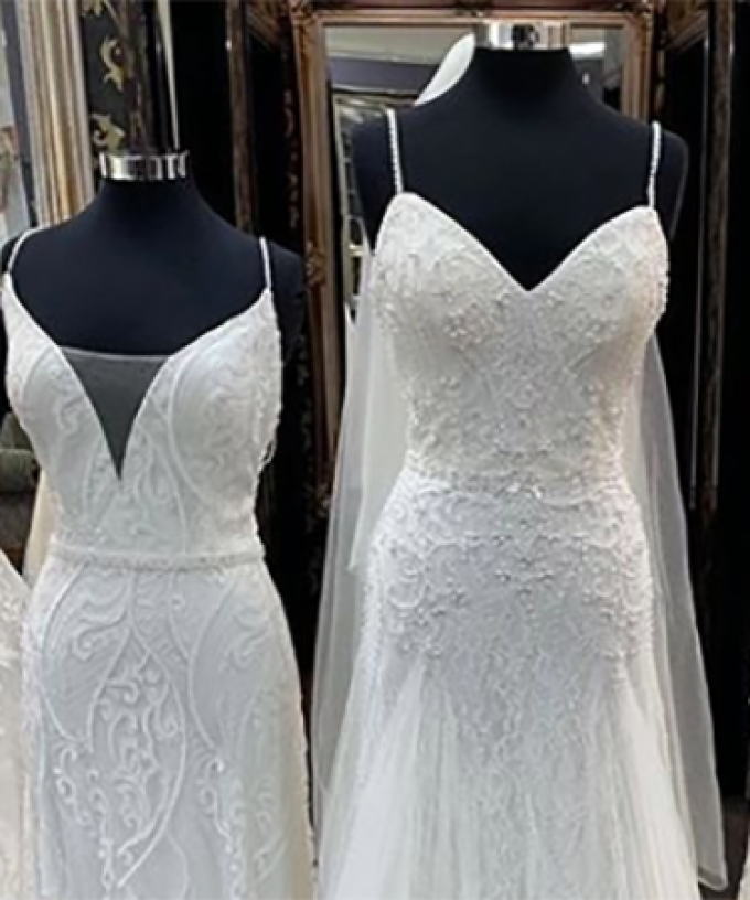 This Bridal Store Is Selling $15 Wedding Dresses After Going