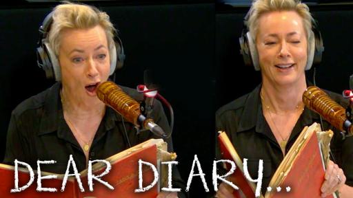 """Dear Diary"": Reading Excerpts From Amanda Keller's Teenage Diary"