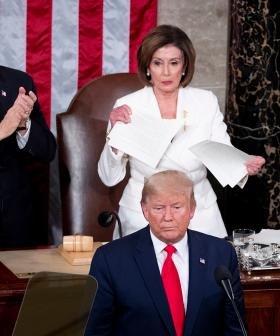 Nancy Pelosi Rips Up Donald Trump's State Of The Union Speech Behind His Back In Savage Move