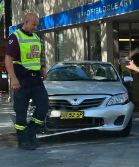 Major Traffic Delays In Sydney's East After Car Slams Into Shopfront