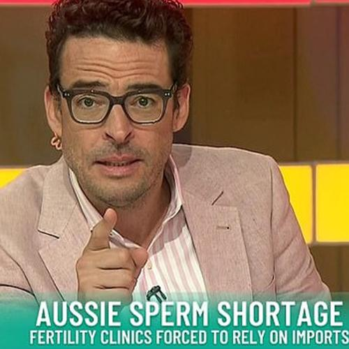 Studio 10's Joe Hildebrand Recognised By Fan At Sperm Bank