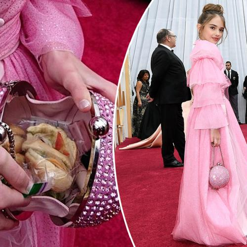 Once Upon A Time In Hollywood's Julia Butters Packed A Turkey Sandwich In Her $2,500 Purse For The Oscars