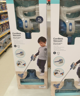Kmart Is Now Selling Vacuums For Kids That Actually Pick Up Dirt