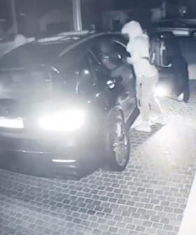 Family's $150,000 Mercedes Stolen In Sydney's East