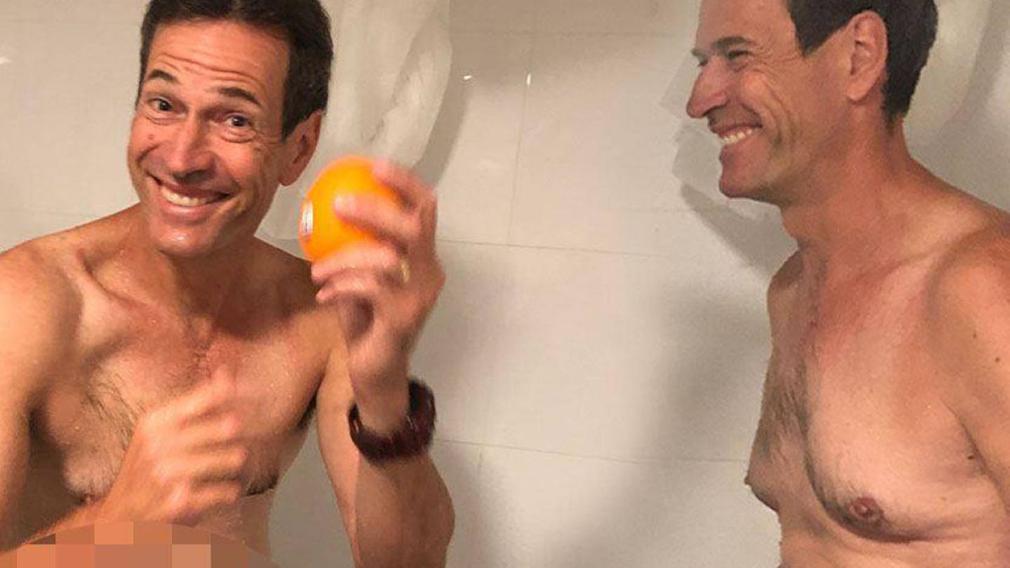 Jonesy Tests Whether Eating An Orange In The Shower Is Life Changing