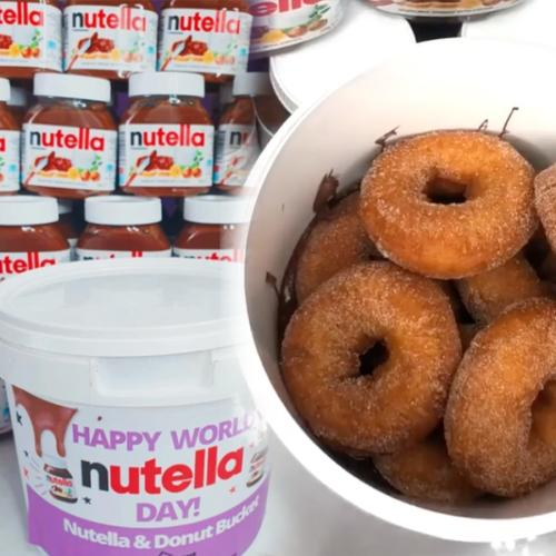 You Can Get A Nutella Donut Bucket For World Nutella Day