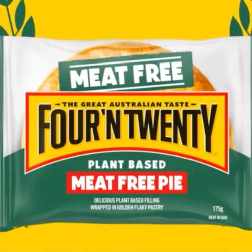 Four 'N Twenty Have Launched A Meatless Meat Pie So Vegetarians Can Enjoy The Pastry Goodness