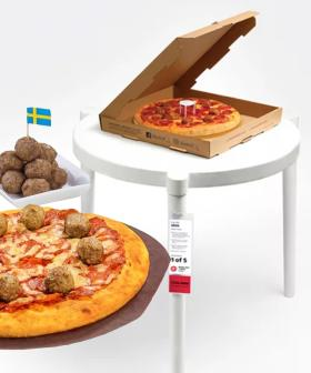 Pizza Hut And IKEA Have Had An INSANE Week Of Collaborations