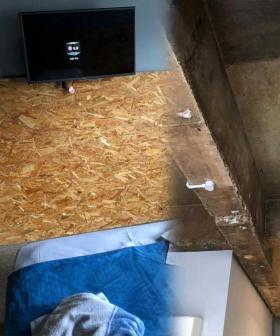 """This Is Unacceptable!"": Lara Worthington Shares Photos Of Her Mum's Quarantine Accommodation"