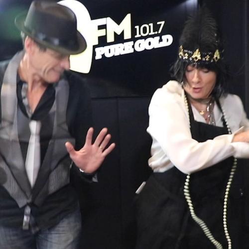 Jonesy & Amanda Attempt The Charleston Dance And Fail Miserably