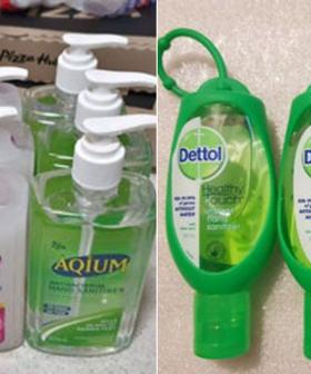 Hand Sanitiser Listed On Gumtree & Facebook Marketplace For Up To $200